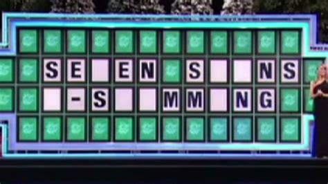 'wheel Of Fortune' Pronunciation Gaffe Costs Contestant