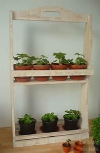 Pouf En Bois : diy etag re pour plantes le blog de b a ~ Teatrodelosmanantiales.com Idées de Décoration