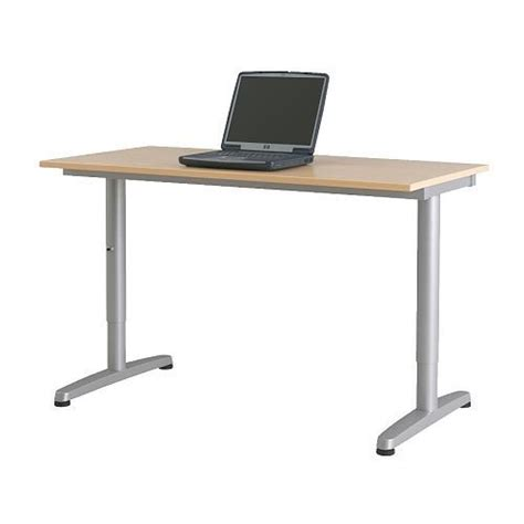 Motorized Standing Desk Ikea by Ikea Galant Electric Height Adjustable Desk Nazarm