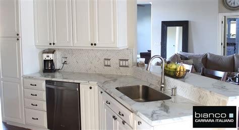 ideas for a backsplash in kitchen carrara bianco honed 1x2 herringbone mosaic tile