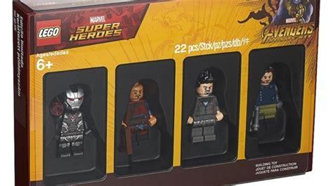 cancelled toys   lego avengers minifigure set