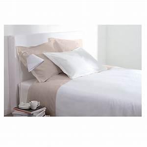 Taie Oreiller Rectangulaire : taie d 39 oreiller rectangulaire 50x70 cm 100 coton blanc maison fut e ~ Teatrodelosmanantiales.com Idées de Décoration