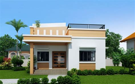 maryanne storey roof deck shd modern bungalow house philippines house