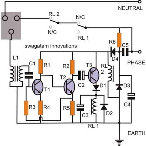 Earth Leakage Circuit Breaker Wiring Diagram by 2 Simple Earth Leakage Circuit Breaker Elcb Explained