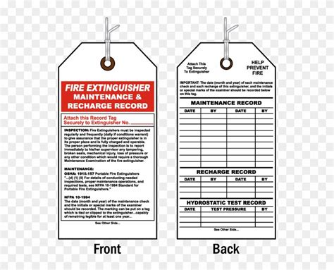 Check these details during a monthly fire extinguisher inspection. Commercial Building Final Inspection Checklist Template - Maintenance Of Fire Extinguisher, HD ...