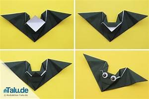 Mobile Basteln Origami : fledermaus basteln 3 einfache bastelanleitungen ~ Orissabook.com Haus und Dekorationen