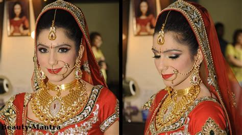 Bridal Makeup Ideas   Traditional Indian Bride   YouTube
