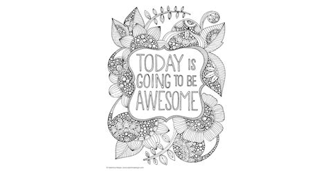 today     awesome   coloring book