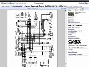 Doc  Diagram 98 Kawasaki 300 Bayou Wiring Diagram Ebook