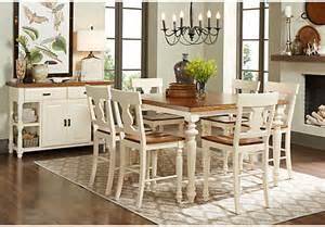 cottage dining room sets hillside cottage white 5 pc counter height dining room dining room sets colors
