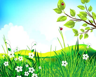 green scenery vector landscape ai svg eps vector
