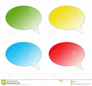 Color Speech Bubble Stock Photography - Image: 949492