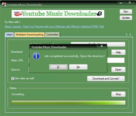 Download mp3 file from your favorite video in few seconds. Download YouTube Music Downloader 8.9 - Gratis