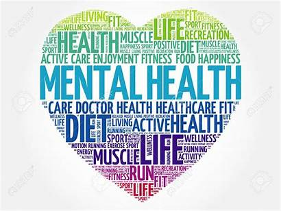 Mental Health Word Cloud Heart Roles Step
