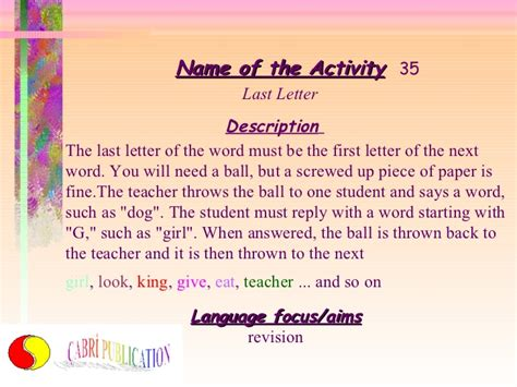 200 boys names beginning with the letter quot 39 activities for lesson 49713