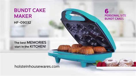 hf  bundt cake maker holstein housewares youtube