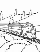Train Coloring Pages Trains Railroad Csx Freight Drawing Track Printable Real Caboose Bnsf Awesome Sheets Colorluna Passenger Template Getdrawings Locomotive sketch template