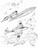 Meteor Colouring Jet V1 Bomb Flying Activity Colour Air Yorkshireairmuseum Attacking German Shows Museum sketch template