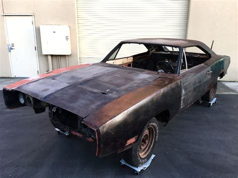 Project For Sale by Needs Frame 1970 Dodge Charger Project Car For Sale