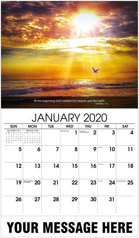church fund raising christian faith promotional calendar