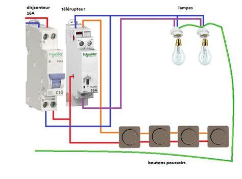 installation telerupteur unipolaire schneider