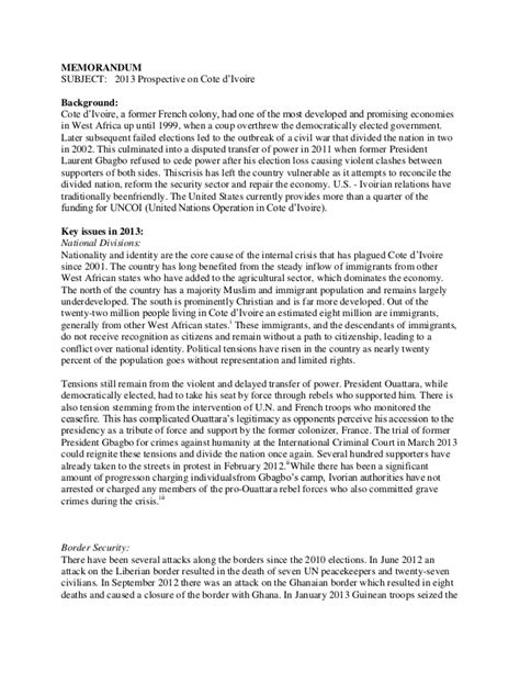 policy memo template policy memo writing sle