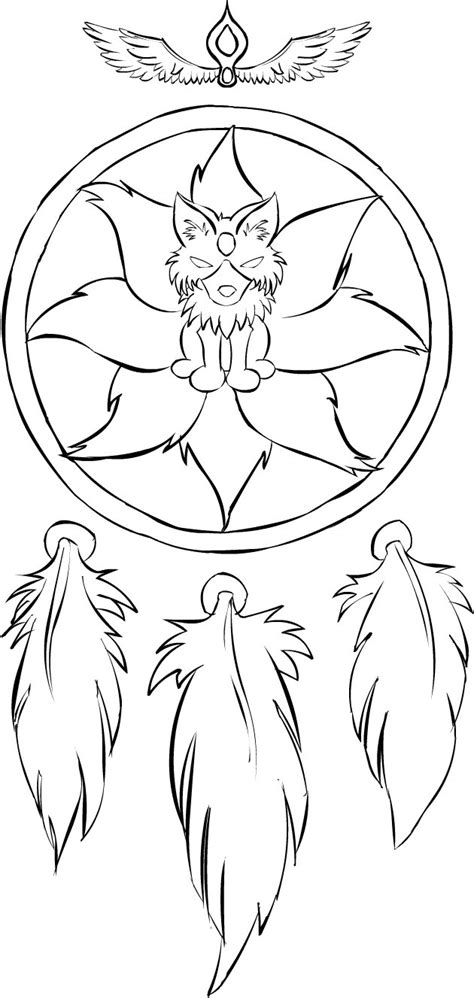 Dreamcatcher Coloring Page - GetColoringPages.com