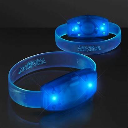 Laser Glow Led Cosmos Wristband Engraved