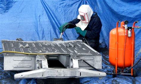 sandblasting steel stainless pickling finish surface castings instead machining resistant