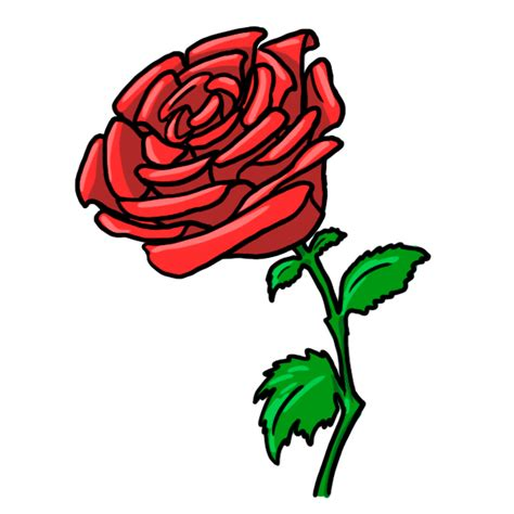 Free Red Rose Cartoon Download Free Clip Art Free Clip