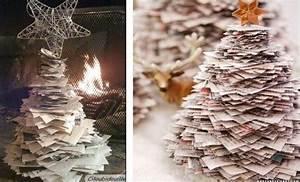 Sapin En Papier Plié : faire un sapin de no l en papier id es d cos no l ~ Melissatoandfro.com Idées de Décoration