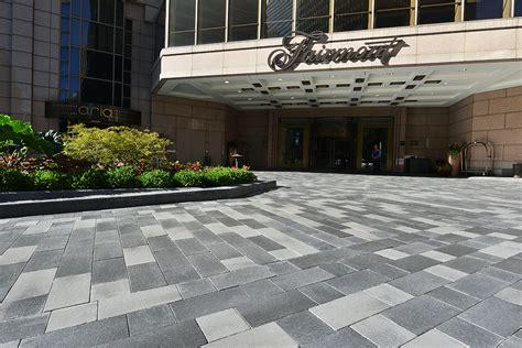 unilock canada fairmont hotel unilock commercial