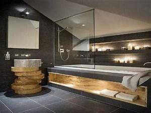 20 salles de bain zen qui donnent des idees deco deco cool for Salle de bain design avec décoration d intérieur zen