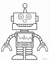 Robot Coloring Pages Printable Cool2bkids sketch template