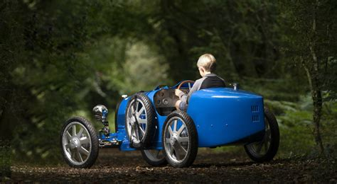 The bugatti baby ii has grown up to be more of a teenager now, and i must say i'm very excited to see it drive around on the bugatti premises in molsheim. a 110th birthday present to ourselves. Bugatti Baby II: The world's smallest Ettore is electric, kid-friendly and starts from 30,000 ...
