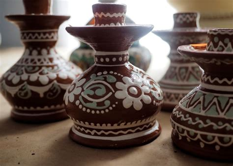Slip Decoration Techniques In Pottery