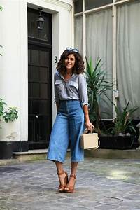 How to wear the culottes trend