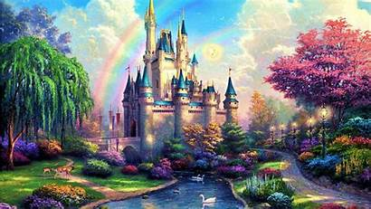 Fairy Tale Castle Wallpapers Wallpapertag