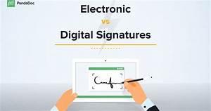 The Differences Between eSignatures & Digital Signatures ...
