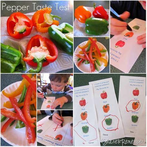 pepper tasting in preschool 287 | Pepper Taste Test Activity for Preschool thumb2