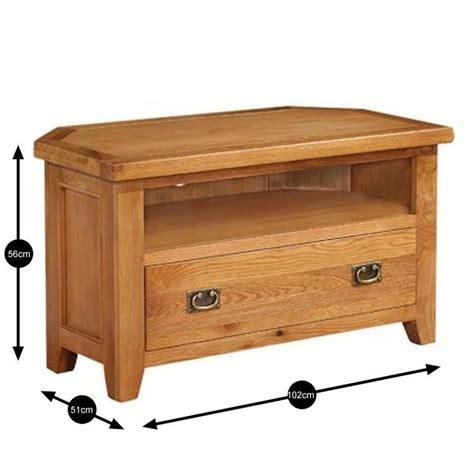 wooden corner tv cabinet cotswold solid oak corner tv unit wooden stand television