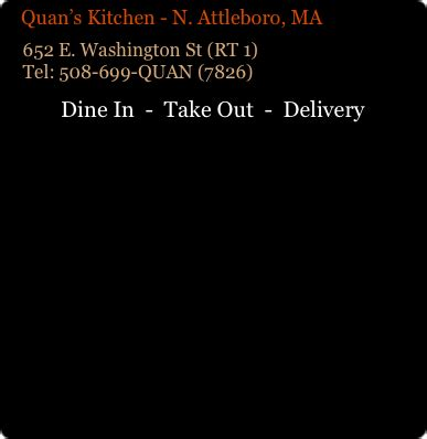Quan S Kitchen Weymouth Ma by Quans Kitchen Asian And Sushi Locations