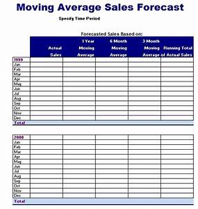 moving average forecast template microsoft excel templates With moving average excel template