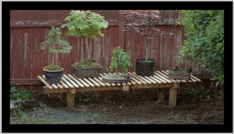 woodwork bonsai bench diy  plans