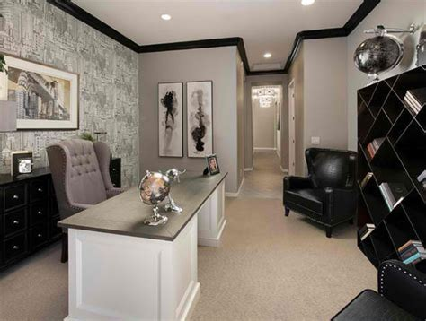 Gray Home Design Ideas by 15 Ideas For Contemporary Gray Home Office Designs Home