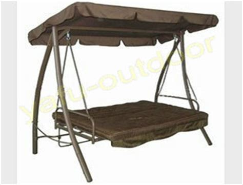 patio swing chair swing bed garden furniture folding swing