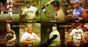 Steroids Before And After Of Barry Bonds Mark Mcgwire