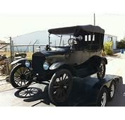 1917 Ford Model T 4 Door Convertible  027