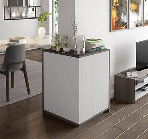 Bestar, Bestar, Small, Space, Outer, Corner, Storage, Unit, In, Bark, Gray, And, White