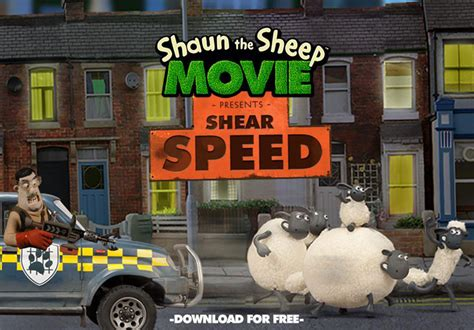 shauns  racing game shear speed shaun  sheep
